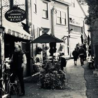 Main Streets Market & Cafe Black and White