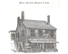 Main Streets Market & Cafe Sketch
